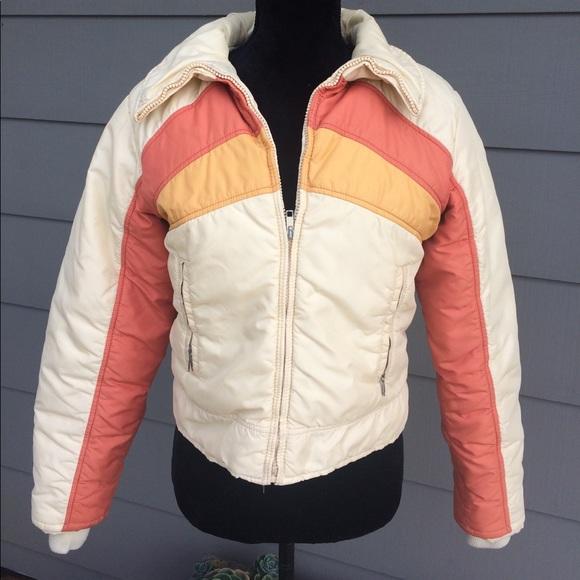 e802b4c63b alpine designs Jackets   Blazers - Vintage Cropped Down Jacket Stranger  Things style